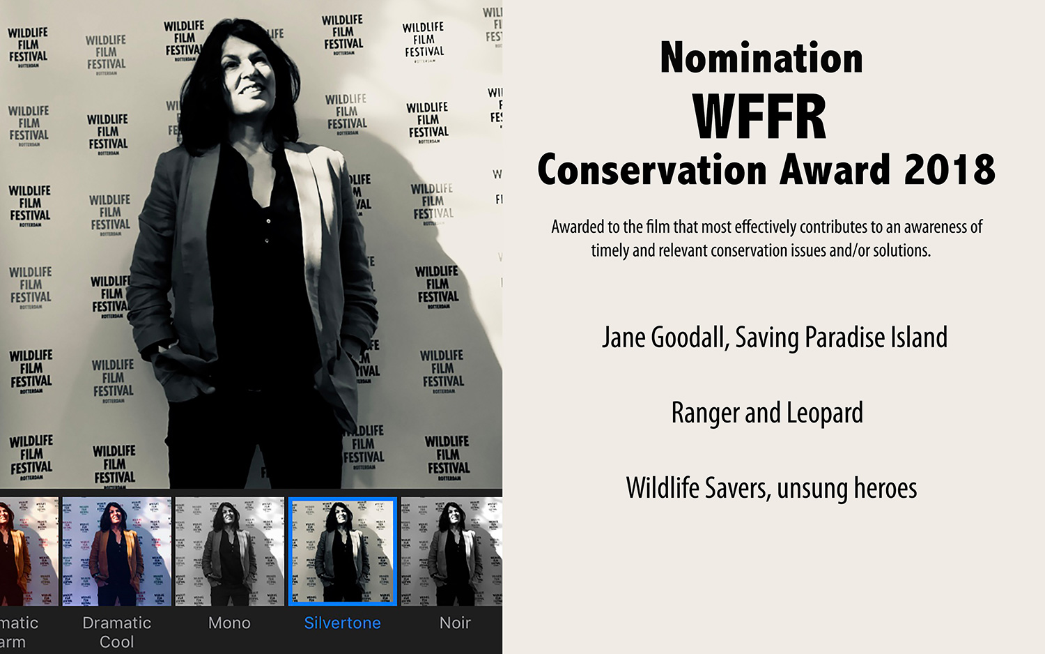 Annegre-Bosman-winner-WFFR-Conservation-Award-2018-Wildlife-Savers,-unsung-heroes